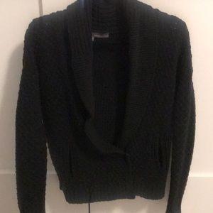 360 Sweater Sweaters - 360 sweater black blazer like knit cardigan- guc
